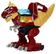 Amazon.com: Power Rangers Dino Charge - Rumble and Roar T-Rex Zord Action Figure: Toys & Games