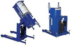 The Linear Actuated Pail Dumper allows you to minimize redundant bending required to pour pail contents. 120 volt 1 phase power supply standard. Pendant hand control gives operator infinite control of 135° rotation. Solid steel construction with variable height refastener to dispense with or without pail contents contacting the chute.