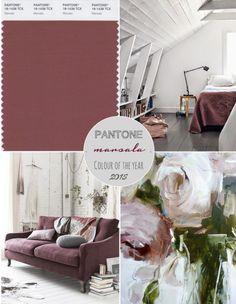 #marsala #coloroftheyear #2015 #diseño #design #colordelaño #arquitectura #interiores #furniture #mobiliario