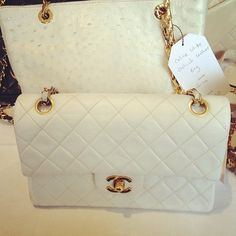 Chanel in White