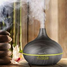 Hot Promo EASEHOLD Air Humidifier Essential Oil Diffuser Aroma Lamp Aromatherapy Electric Aroma Diffuser Mist Maker for Home-Wood Ultrasonic Cool Mist Humidifier, Air Humidifier, Aroma Essential Oil, Essential Oil Diffuser, Humidifier Essential Oils, Aroma Diffuser, Home Fragrances, Wood Design, Mists