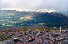 Scotland, Ben Macdui, mountains, Cairngorms, landscape, nature, clouds, hills, green, blue by PicClick on Etsy