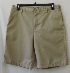 Lands' End Men Shorts Size 36 100% Cotton #LandsEnd #CasualShorts