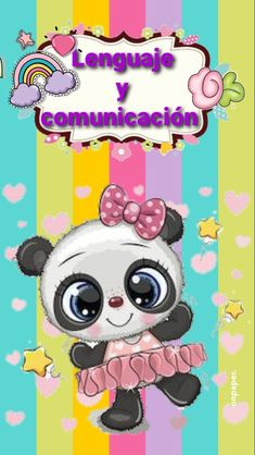 Cute Panda, Minnie Mouse, Disney Characters, Fictional Characters, Stickers, Education, Ideas, Notebooks, Moldings