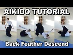 [Aikido Ukemi] Backward Feather Fall - Tutorial - YouTube