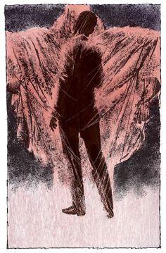 Una immagine tratta da Poe  Dino Battaglia