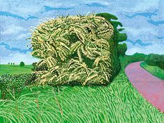 David Hockney-The Big Hawthorne (2008)