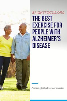 Learn about the different exercises that are appropriate and safe for individuals with Alzheimer's disease. Alzheimers Activities, Alzheimer's And Dementia, Different Exercises, Elderly Care, Senior Living, Regular Exercise, Caregiver, Lbd, Health Fitness