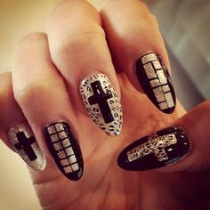 Minzy, nail art nails 2ne1