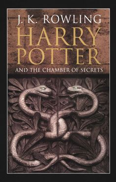 U.K. adult cover art for the Harry Potter and the Chamber of Secrets book