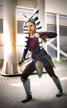 Ahsoka Tano From Star Wars Rebels cosplay by Daisy Cosplay Star Wars Mädchen, Star Wars Canon, Star Wars Facts, Star Wars Girls, Star Wars Costumes, Cool Costumes, Cosplay Costumes, Ahsoka Tano Costume, Asoka Tano