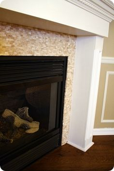 Peel And Stick Backsplash Fireplace Peel N Stick Tiles