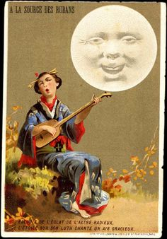 French Sings a Japanese Ballad  To The Old Man In The Moon ~1