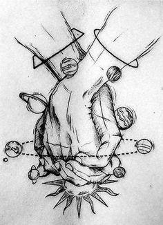 Dark Art Drawings, Art Drawings Sketches Simple, Pencil Art Drawings, Tattoo Drawings, Tattoos, Tattoo Sketches, Drawings About Love, Drawings Of People, Drawings With Meaning