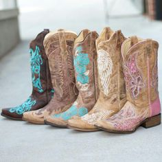 This would be my idea of country girl boots  love them but looking for a little higher 14 to 15 inches but these are cute