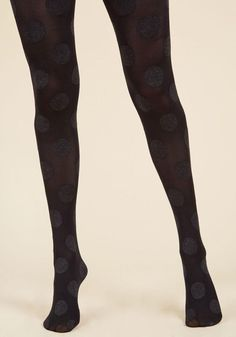 #ModCloth - #ModCloth Dressed to Dance Tights in Noir - AdoreWe.com