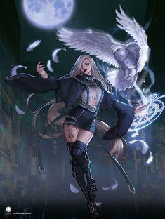 Dark Fantasy Art, Fantasy Kunst, Fantasy Art Women, Beautiful Fantasy Art, Anime Fantasy, Fantasy Girl, Fantasy Artwork, Female Character Design, Character Concept
