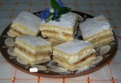 Érdekel a receptje? Hungarian Cake, Hungarian Recipes, My Recipes, Sweet Recipes, Cooking Recipes, No Bake Desserts, Dessert Recipes, Homemade Cakes, Something Sweet