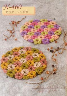Tapete Flores........Crochê Alegre Para Sua Casa