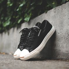 Cross Stitch Leather Sneakers by Converse x Jack Purcell