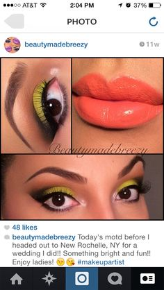 Colors, colors, and more colors! Used my urban decay electric palette for this look!