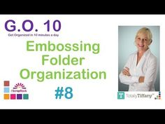 Get Organized in 10 Minutes a Day with Tiffany Spaulding - time to Tiffanize!