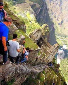The Almost Vertical Stairs Peru December 03 2016 at 07:50AM