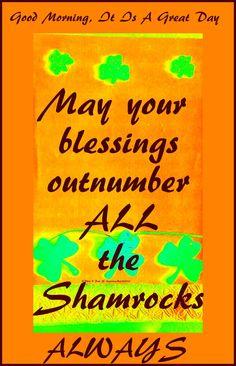 #blessings & #shamrocks