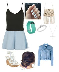 """Untitled #396"" by rikey-byrnes on Polyvore featuring Topshop, Fitbit, Ice and Acne Studios"