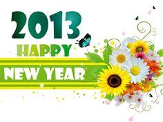 Happy New Year 2013 Wallpaper HD