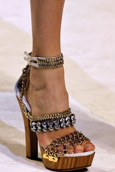 Dolce & Gabbana-OMGoodness.....somebody up there does love me....these are fabulous!!