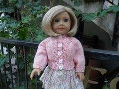 Olive Groves and Doll Knits: Free Knitting Pattern AGD Sera Cardigan