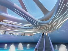 DSO-Plex spaceship,Dubai designed by Söhne & Partner Architekten