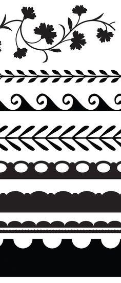 D'autres bordures ~ KLDezign les SVG
