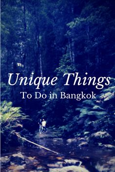 A short list of the some of the unique things to do in Bangkok besides visiting ANOTHER temple. #thailand #bangkok #attractions #travel
