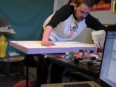 Gaming Table Construction  Another useful link, he approached this project differently, but had some decent ideas.