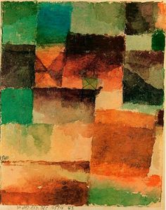 Kamel in der Wüste von Paul Klee (1879-1940, Switzerland)