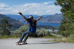 Did you know that at some downhill races people have ridden longboard faster than 80 km per hour?! Learn to ride a longboard and you won't need a car anymore! Share and verify your new skills in Appchieve and you will earn some points and respect!