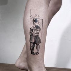 Klimt tattoo by John Monteiro Kiss Tattoos, Sweet Tattoos, Tatoos, Cool Arm Tattoos, Small Tattoos, Blackwork, Klimt Tattoo, Geometric Tattoo Design, Skin Art