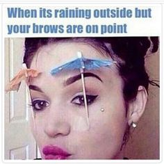 Eyebrows on point