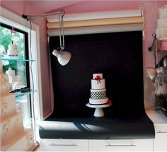 Cup a Dee Cakes Blog: Photo Booth Station... Complete!