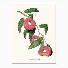 Pizza Plant Art Print by Jonas Loose - Fy Wall Art Prints, Fine Art Prints, Canvas Prints, Plant Cuttings, Plant Art, Home Wall Art, Planting Flowers, Pop Art, Art Pieces
