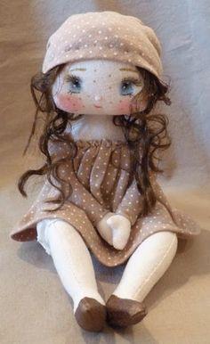 poupée de chiffon timide