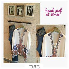 Α sneak peek at #matfashion store in Glyfada {Gr. Lampraki 15} • Stylish δυναμισμός με ethnic επιρροές που χαρίζει ένταση και απογειώνει το boho chic look! Κωδικός: 651.1303 #summer2016 #collection #ootd #denim #boho #chic #fashion #style #inspiration #fashionista #mat_glyfada #athensriviera #shopping