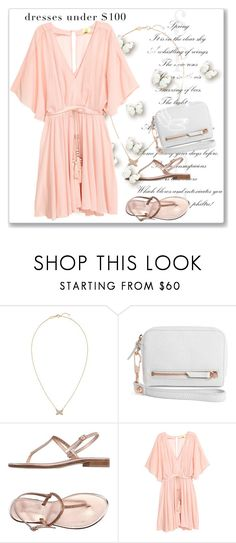 """Dresses Under $100"" by andrejae ❤ liked on Polyvore featuring Chaumet, Alexander Wang, Positano, under100, polyvoreeditorial and polyvorecontest"