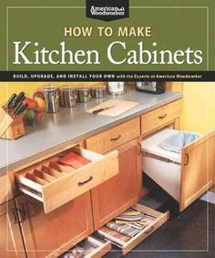 Simple Kitchen Upgrades Three easy projects that add storage, convenience and… How To Make Kitchen Cabinets, New Kitchen, Simple Kitchen, Building Kitchen Cabinets, Kitchen Upgrades, Kitchen Design, Cabinet, Diy Kitchen, Kitchen Renovation