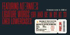 Cinematografica - Webfont & Desktop font « MyFonts