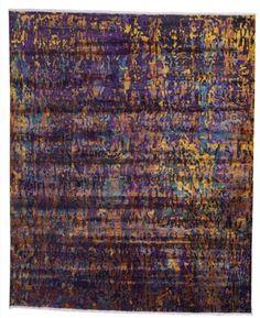 "Size: 8' 01"" x 9' 09"" Construction: Hand Knotted. Material: Silk. Colors: Multi Colors. Collection: MG. Origin: India. Description: Sari Silk. Sari Silk, Floor, The Originals, Collection, Pavement, Boden, Flooring"