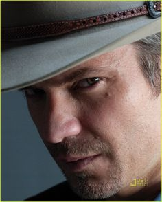 "Timothy Olyphant, ""Justified."" Mercy."