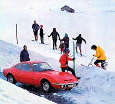 OPEL GT 1971